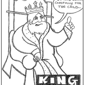 King COVID Is Looking For The Christ Child