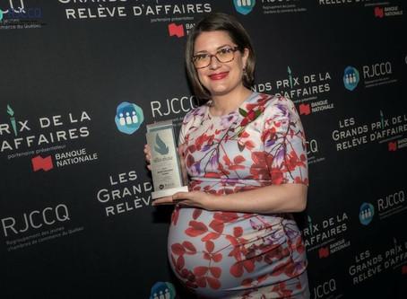 Retour sur le Gala des Grands Prix Relève Affaires 2018...