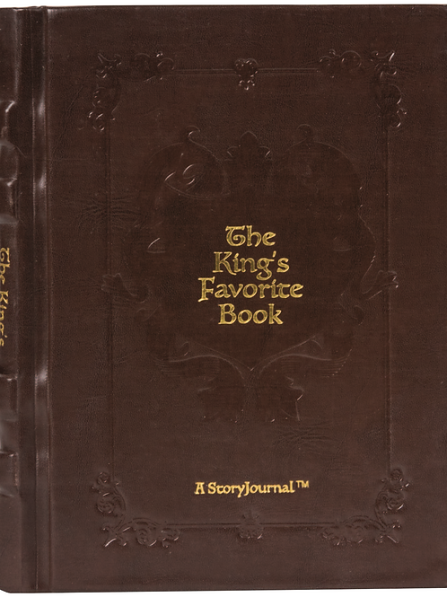"The King's Favorite Book - The World's First StoryJournal™ (""Leather"" Edition"