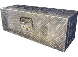 Aluminium Chequerplate Toolbox - P10532