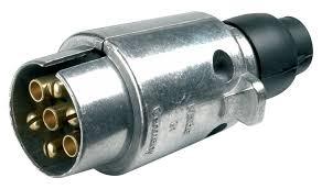 12 N 7 Pin Metal Plug