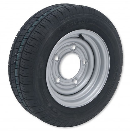 Ifor Williams Wheel Assembly 195/60R12C 6J - P0889