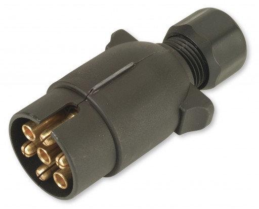 12 N 7 Pin Plastic Plug