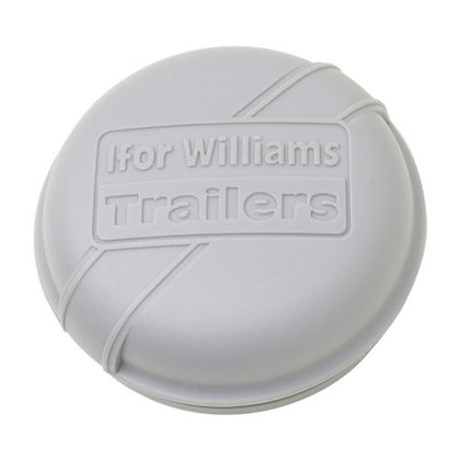 Ifor Williams Hub Cap Grey 76mm - P1258