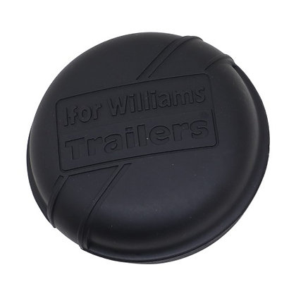 Ifor Williams Hub Cap Black 75mm - P1250