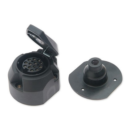13 pin Vehicle Socket- P1807