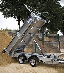 Tipping Trailer, Hire