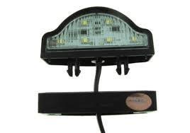 10-30v LED Number Plate Lamp