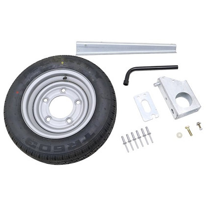 Ifor Williams KX0243 Spare Wheel Kit