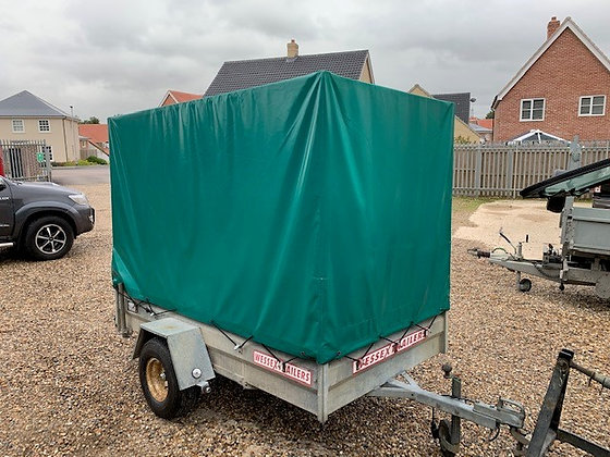 Wessex Un-braked Enclosed Trailer