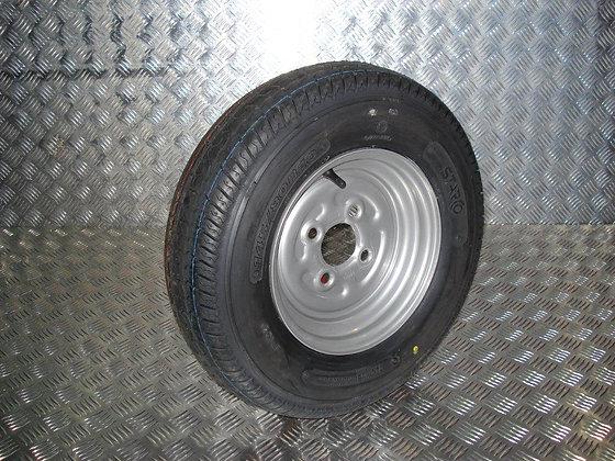 (4) Wheel Assembly 145/80B10 - P0835