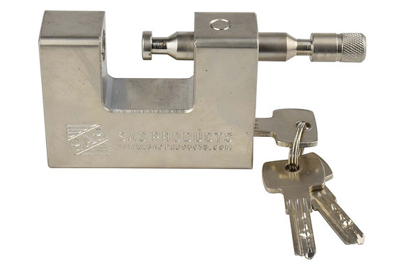 C-Type Padlock for Chains or Cables