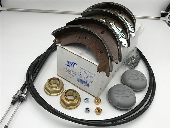 Ifor Williams GD, P6g, P8g, BV84, Single Axle Service Kit