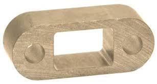 Aluminium Towball Spacer Block 25mm