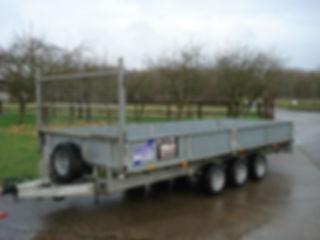 Flatbed Trailer, Hire