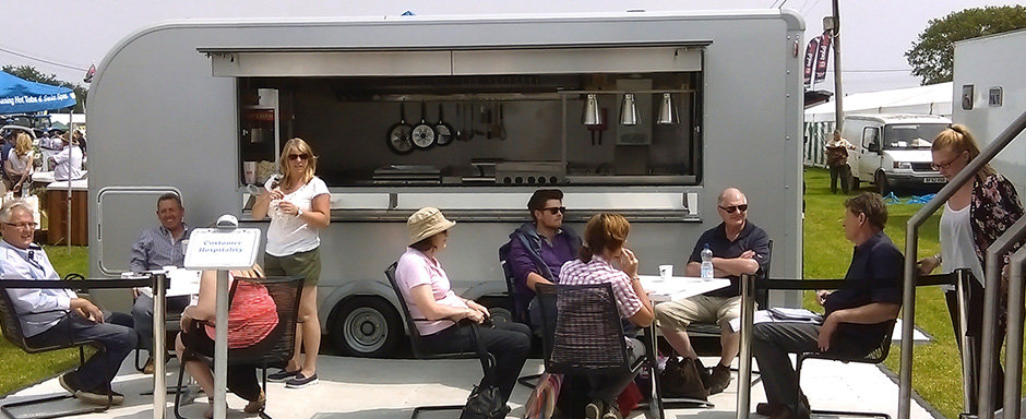 Ifor Williams, Catering, Trailer