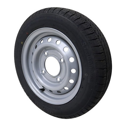 Wheel Assembly 145/70/R13 - P0833