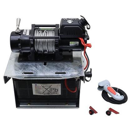 Ifor William Winch, Bracket & Battery Kit - KX6155