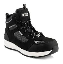Buckler Largo Bay Baz Safety Lace Boots Black