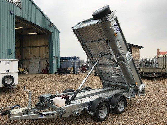 Ifor Williams Tipper Trailer Hire - Agroco Trailers