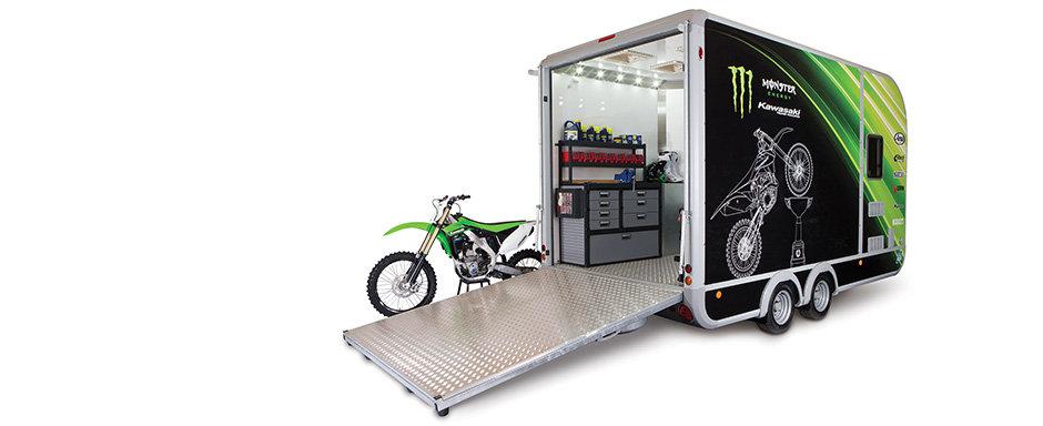 Ifor williams, workshop, trailer