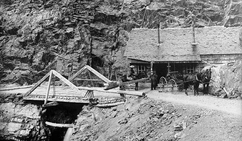 Otto Mears Toll Both Million Dollar Highway