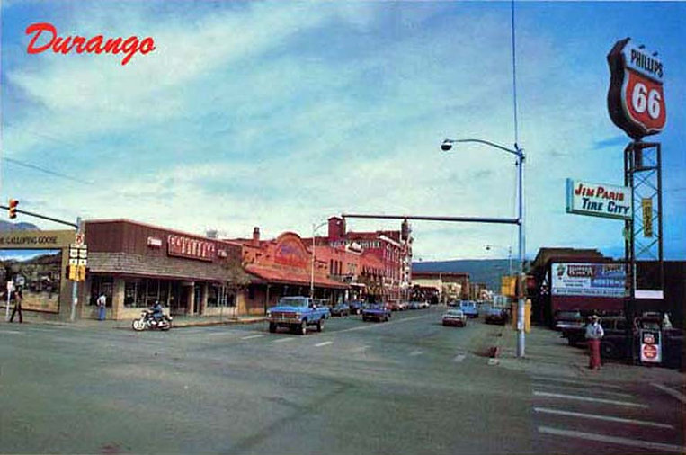 Durango CO Main and 6th in the 70's