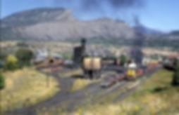Durango rail yard 1965 Photo by John B.