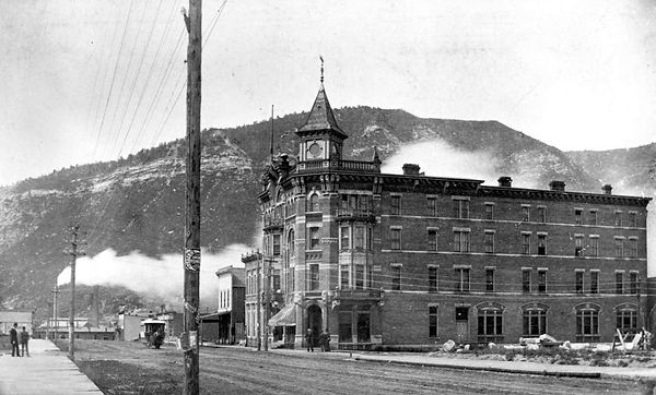 Historic Strater Hotel Durango CO