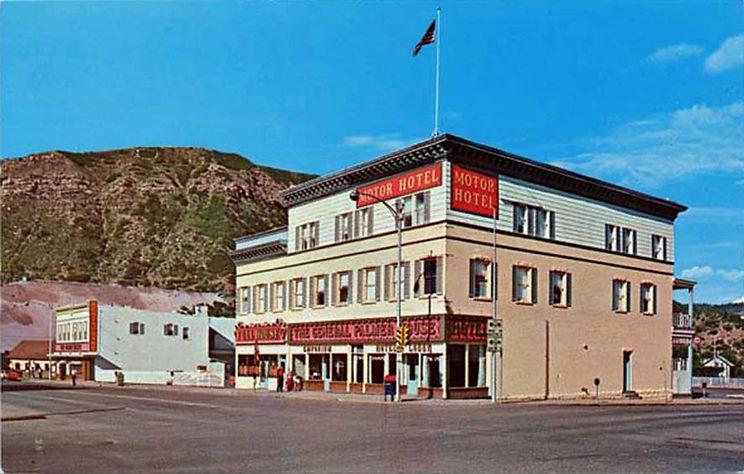 General Palmer Hotel Durago