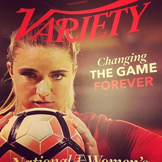 Image from LifeTime Soccer Campaign featured as the Cover of Variety