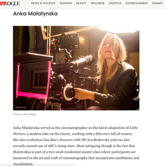 Meet the Cinematographers Behind Some of the Biggest Movies — Who Happen to Be Women