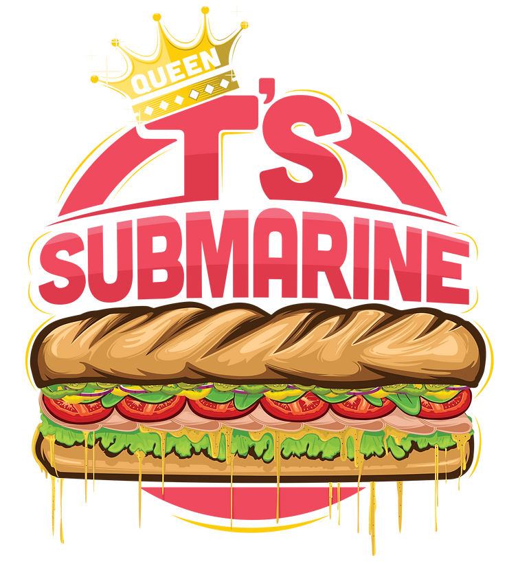 Queen T's Submarine Logo Final No outlin