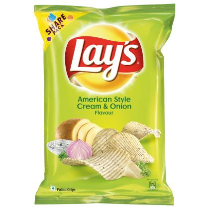 Lay's American Style Cream & Onion Potato Chips 90 g