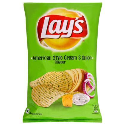Lay's American Style Cream & Onion Potato Chips 52 g