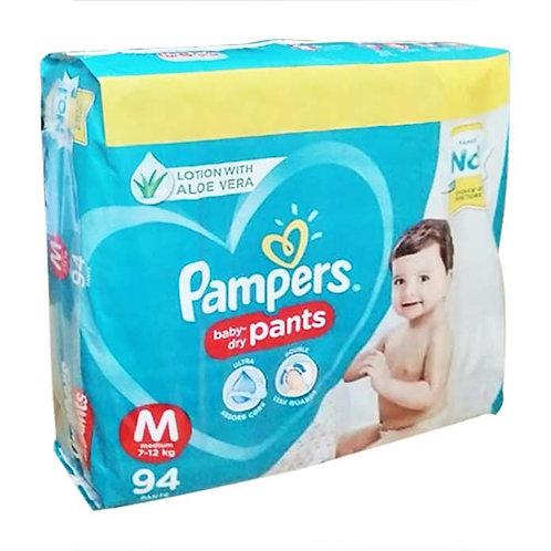 Pampers Baby Dry Pants - Medium : 94 U