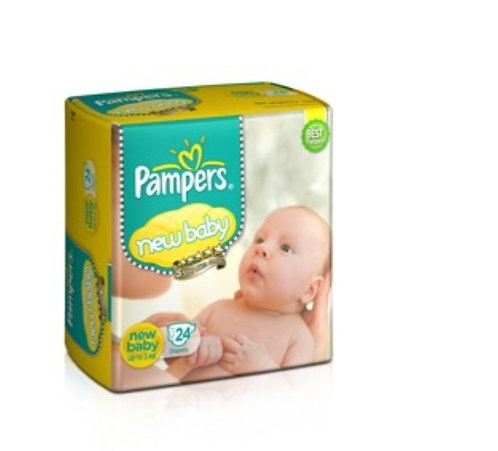 Pampers Diapers - New Baby: 24U