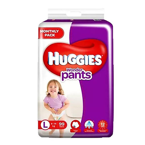 Huggies Wonder Pants - Large : 60 U