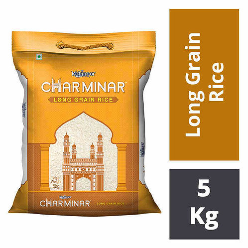 Kohinoor Charminar Long Grain Rice : 5 kgs