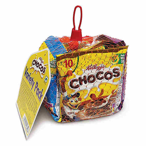 Kellogg's Chocos Variety Pack : 156 gms