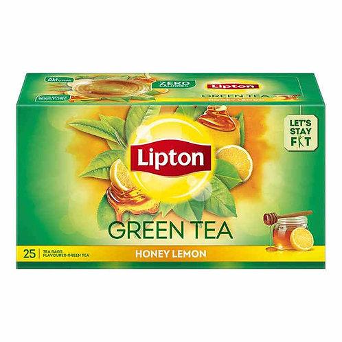 Lipton Green Tea - Honey Lemon : 25 Tea-Bags