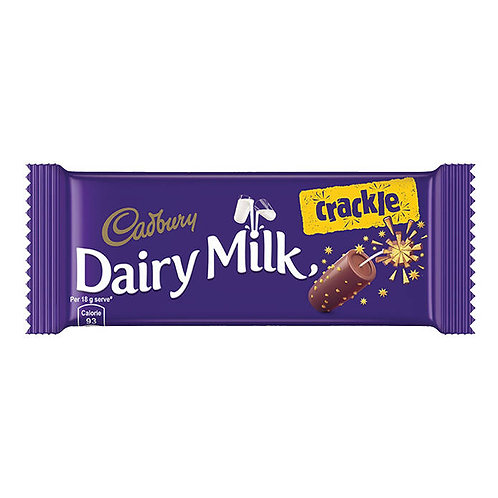 Cadbury Dairy Milk Crackle Chocolate : 36 gms