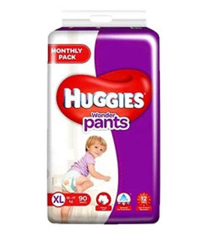 Huggies Wonder Pants -n Extra Large : 90 U