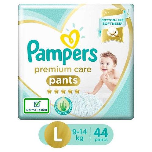 Pampers Premium Care Pants - Large : 44 U