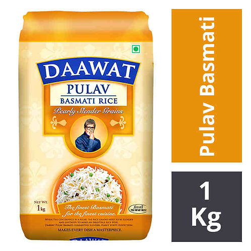 Daawat Pulav Basmati Rice : 1 kg