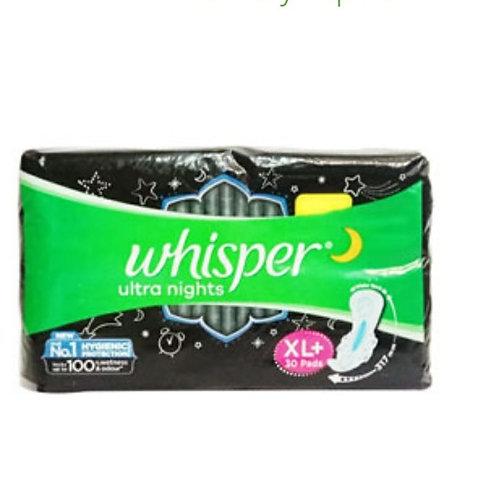 Wishper Ultra Nights XL+ Wings Pads :30 U