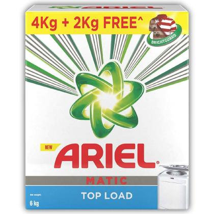 Ariel Matic Top Load Detergent Powder 4 kg