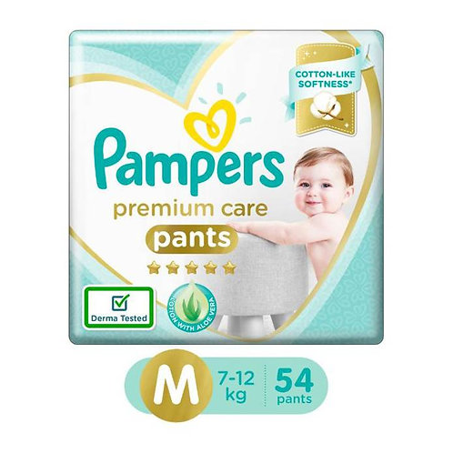 Pampers Premium Care Pants - Medium : 54 U
