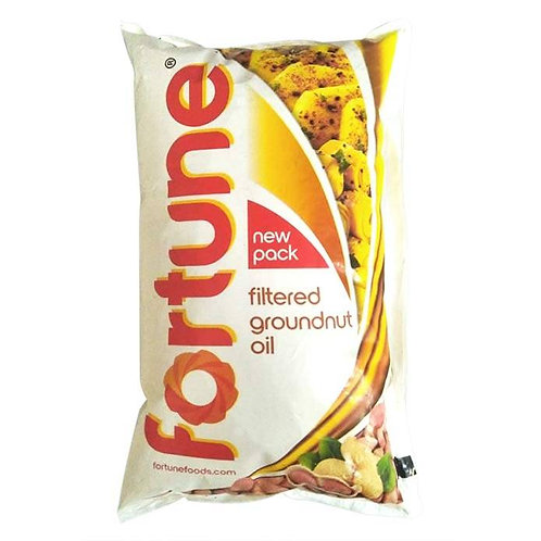 Fortune Filtered Groundnut Oil : 1 Litre
