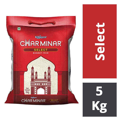 Kohinoor Charminar Select - Basmati Rice : 5 kgs